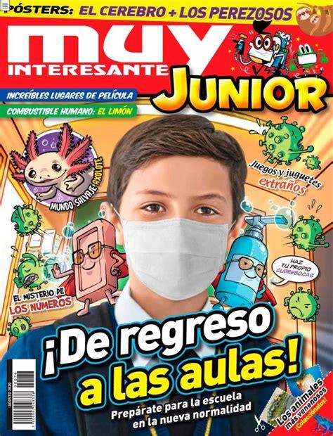 Muy Interesante Junior Mexico Back Issue AGOSTO 2020 ...