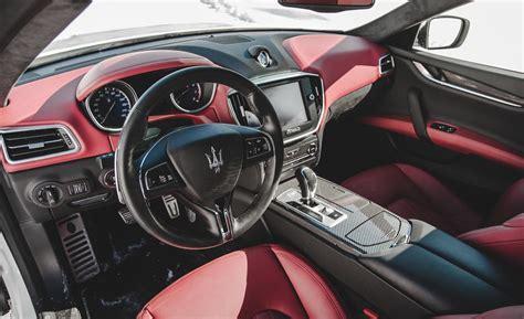 ghibli maserati interior car and driver