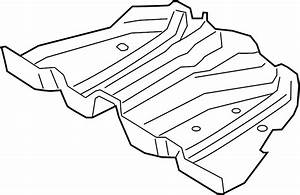 Ford Fusion Fuel Tank Shield  Liter  Heat