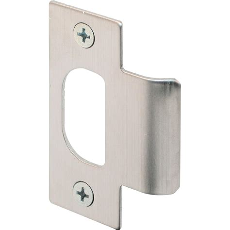 strike plates for doors prime line stainless steel t strike plate e 2299 the