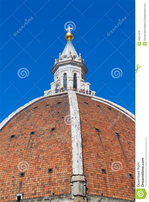 cupola dome brunelleschi s cupola florence dome editorial photo