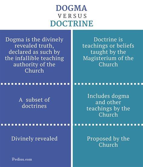 difference  dogma  doctrine pediaacom