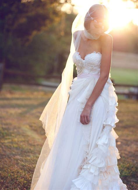 Handmade Wedding Dresses Etsy Bridal Gown Bohemian Claire