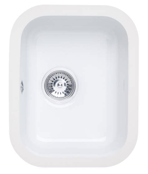 large kitchen sinks astracast lincoln 3040 bowl ceramic gloss white 7114