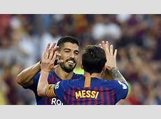 Barcelona 8 2 Huesca Luis Suarez It's important to be