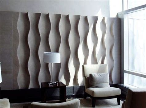 contemporary interior wall panel with modern furnitures bas relief at centria rockefeller