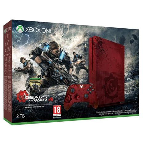 Xbox One S Console 2tb Limited Edition With Gears Of War