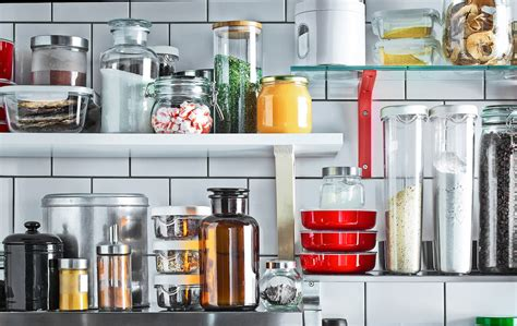 organise  kitchen   storage tips ikea