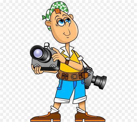 gambar kartun fotografer