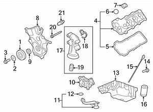 Ford Edge Engine Valve Cover  Left  Liter  Gasket