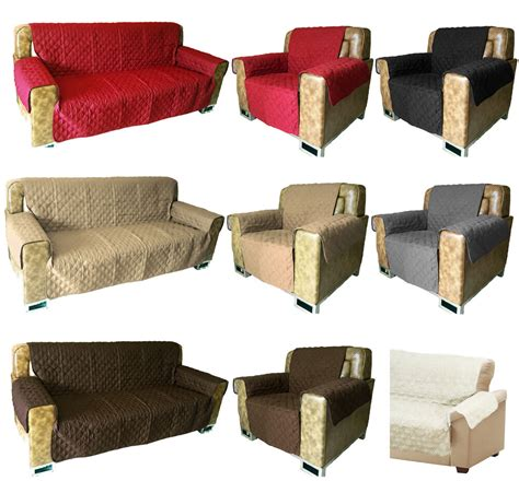 Settee Protectors by Sofa Arm Chair Furniture Pet Protector Quilted Slip