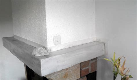 cuisine ceruse blanc comment peindre la poutre de votre cheminée conseils et