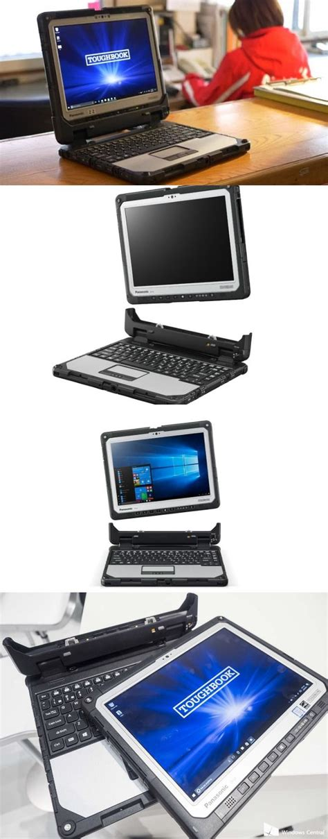 panasonic launches toughbook cf 33 rugged 2 in 1 laptop at mwc 2017 laptop tablets rugged
