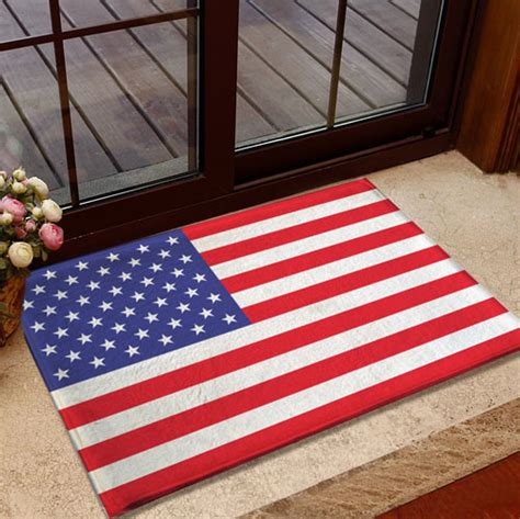 flag doormat wholesale america flag mats antiskid pad football