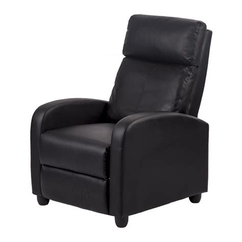 40708 simple single sofa recliner chair modern leather chaise single accent