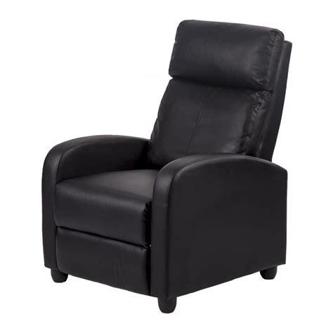 single sofa chairs recliner chair modern leather chaise single accent recliner chair sofa 87 ebay