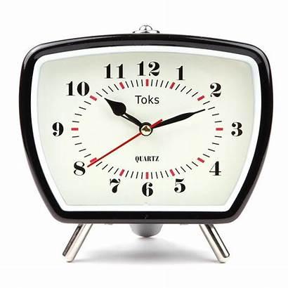 Clock Alarm Analog Retro Lily Inspired