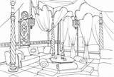 Supercoloring Salotto Disegno Preschool Oriente Colorato Kinderzimmer sketch template