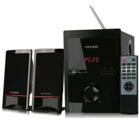 microlab m 700u audio 2 1 speaker system subwoofer fm