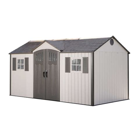 lifetime 15x8 shed uk lifetime 60138 lifetime 15x8 plastic resin storage shed on