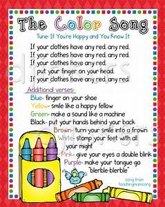 color song, learning colors, color border, cute clip art ...