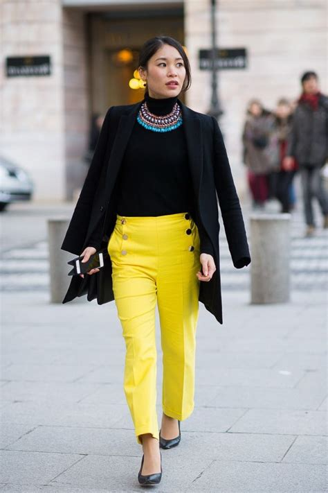 Outfit Ideas Bright Color Pants 2018 | FashionTasty.com