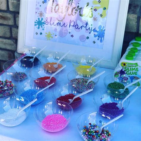 slime time birthday party ideas photo    catch