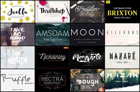 Top 50 Creative Free Fonts Of 2015 That You Should Download