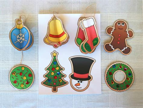 printable christmas ornaments for toddlers free nativity puppets craft for