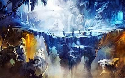 Frozen Wallpapers Cave Trine 3d Desktop 8k