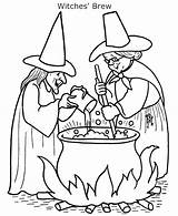 Coloring Cooking Witch Pages Brew Witches Halloween Head Sheets Sinister Template Printable Getcolorings Ruthless Easy Popular sketch template