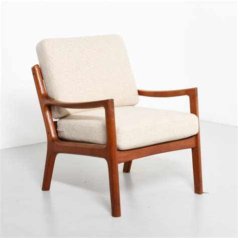 senator lounge chair by ole wanscher for and
