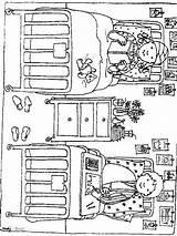 Krankenhaus Hospital Ziekenhuis Kleurplaat Coloring Fun Bed Ausmalbilder Ziek Het Playmobil Kleurplaten Afkomstig Stemmen Adult sketch template