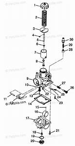 Polaris Atv 1998 Oem Parts Diagram For Carburetor Xplorer