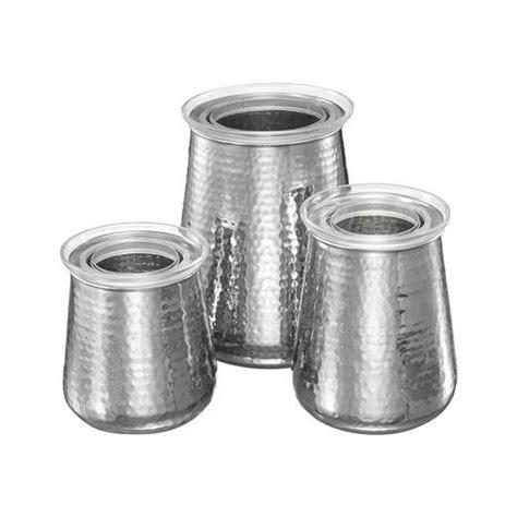 stainless steel kitchen canister set kitchen canister set stainless steel set of 3