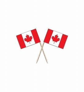 Canada Flag Toothpicks - A Bit of Home (Canada)
