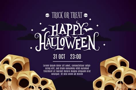 .banners svg files also makes great vector design elements for web and graphic design projects and are compatible with adobe illustrator, coreldraw, inkscape, and other vector programs that open. Free Vector | Happy halloween banner