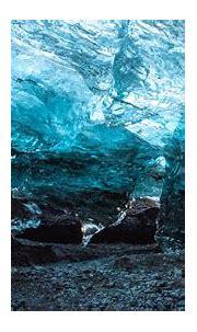 Download wallpaper 3840x2160 cave, ice, ice floe, stones ...