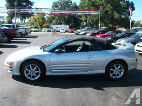Mitsubishi Eclipse Spyder Gt For Sale by 2003 Mitsubishi Eclipse Spyder Convertible Gt For Sale In