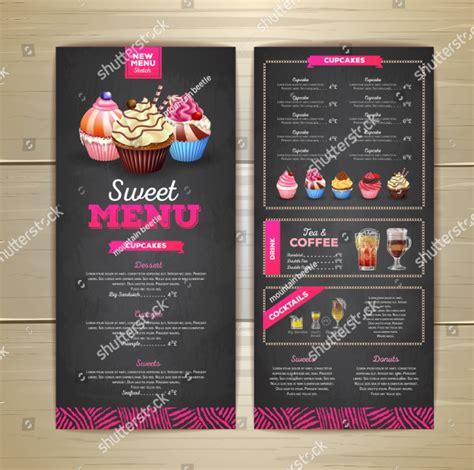 dessert menu templates  premium psd vector png