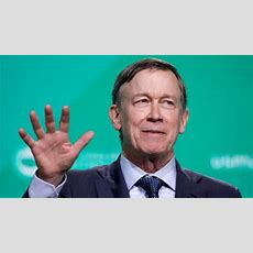 Democratic 2020 Contender John Hickenlooper Why Not Ask Women Candidates If They'd Put A Man On