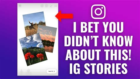 create photo collage  instagram stories youtube