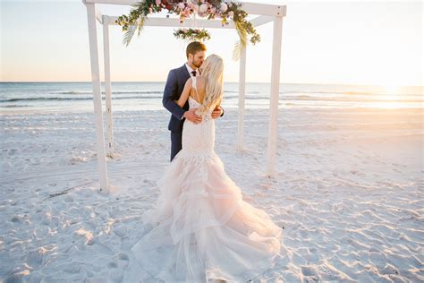 destin beach wedding april  mark  sara kauss