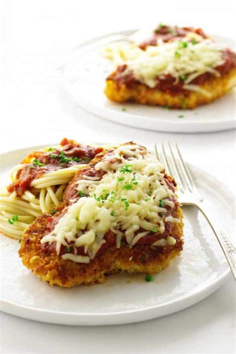 Chicken Parmesan- fast, easy, and delicious - Savor the Best
