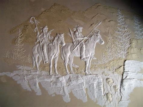 bas relief wall images  pinterest plaster art