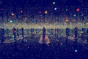 Studio Mirror With Lights Infinity Rooms By Yayoi Kusama Robotspacebrain