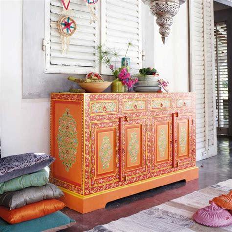 bohemian dressoir   eclectic interior treasure