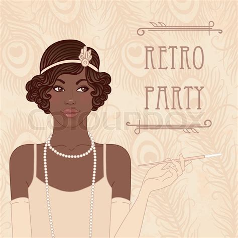 Flapper 1920s African American Woman   HAIRSTYLE GALLERY