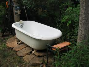Galvanized Water Trough Bathtub by Two Men And A Little Farm Outdoor Soaking Tub