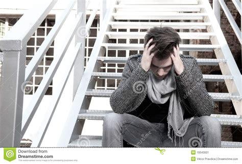 Depressed Guy Stock Image Image Of Caucasian Depressed